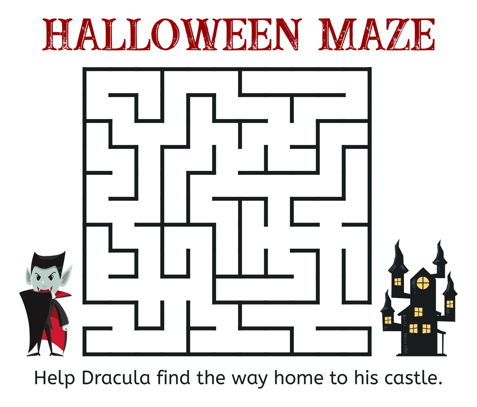 Halloween Maze - Dracula & Haunted House