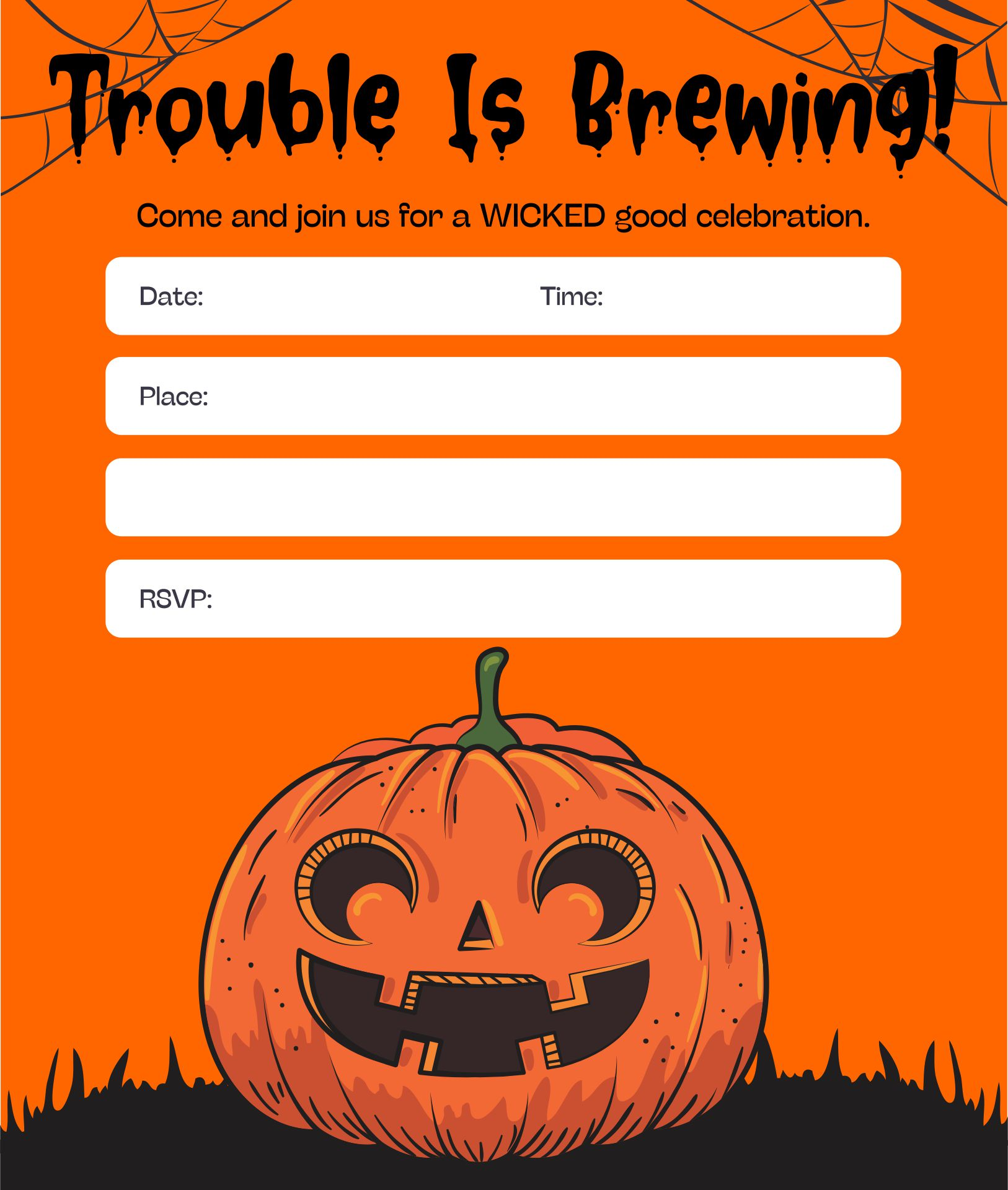 Halloween Party Invitation Wording For Adults