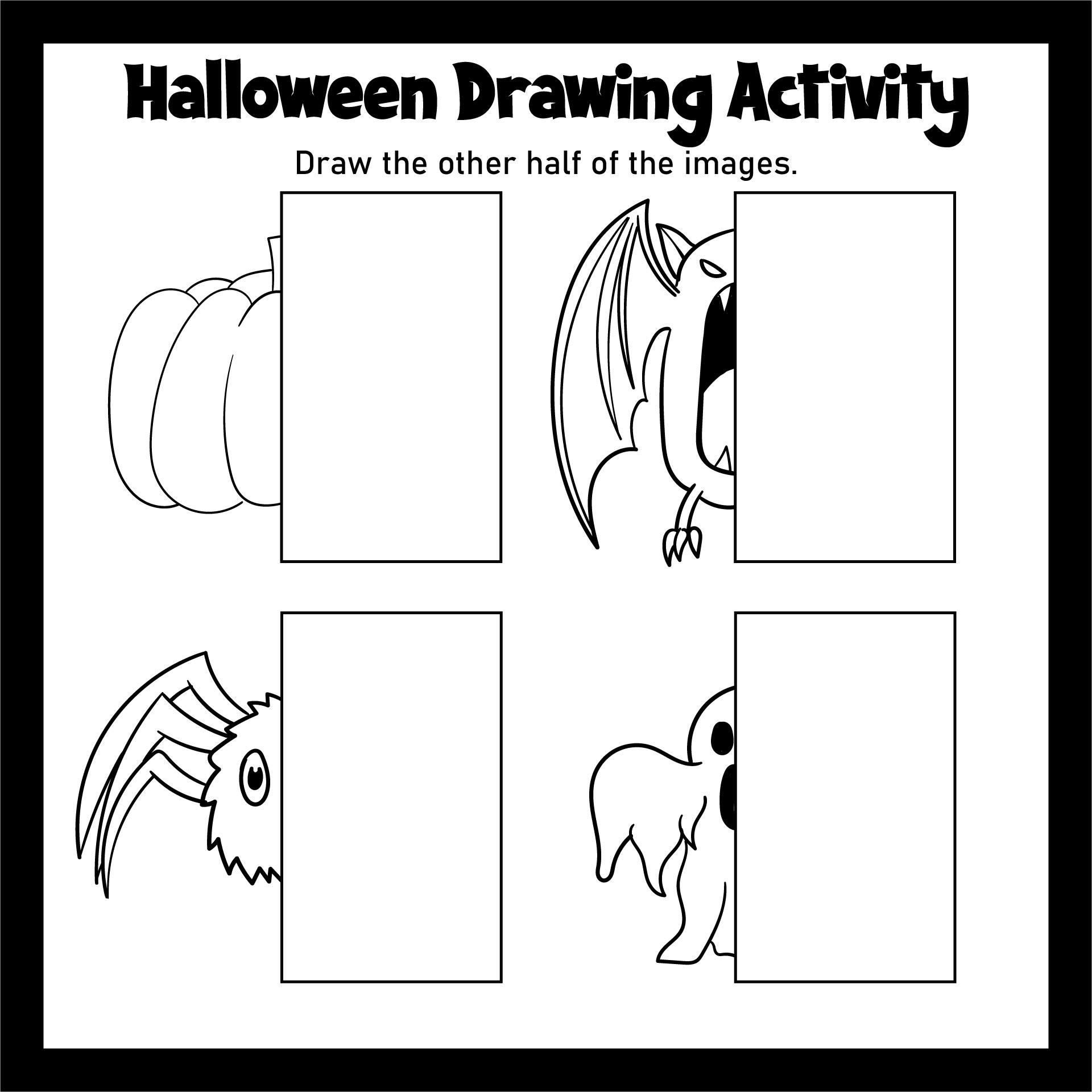 Halloween Printable Activities For Preschoolers