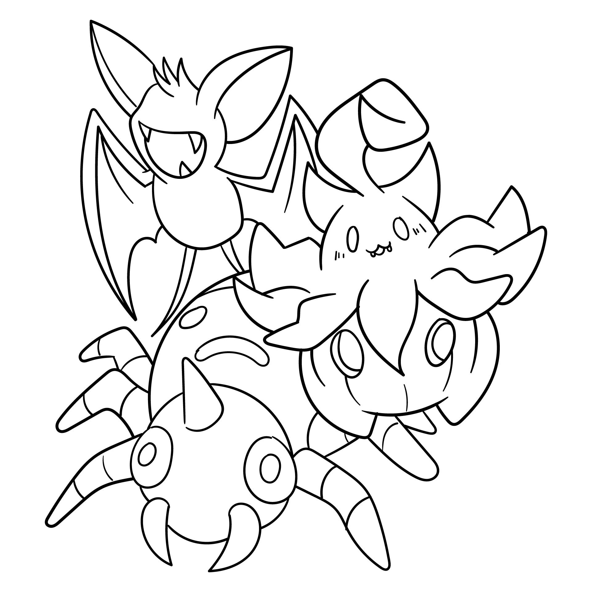 Halloween Printable Coloring Pages Jack O Lanterns, Spiders, Bats