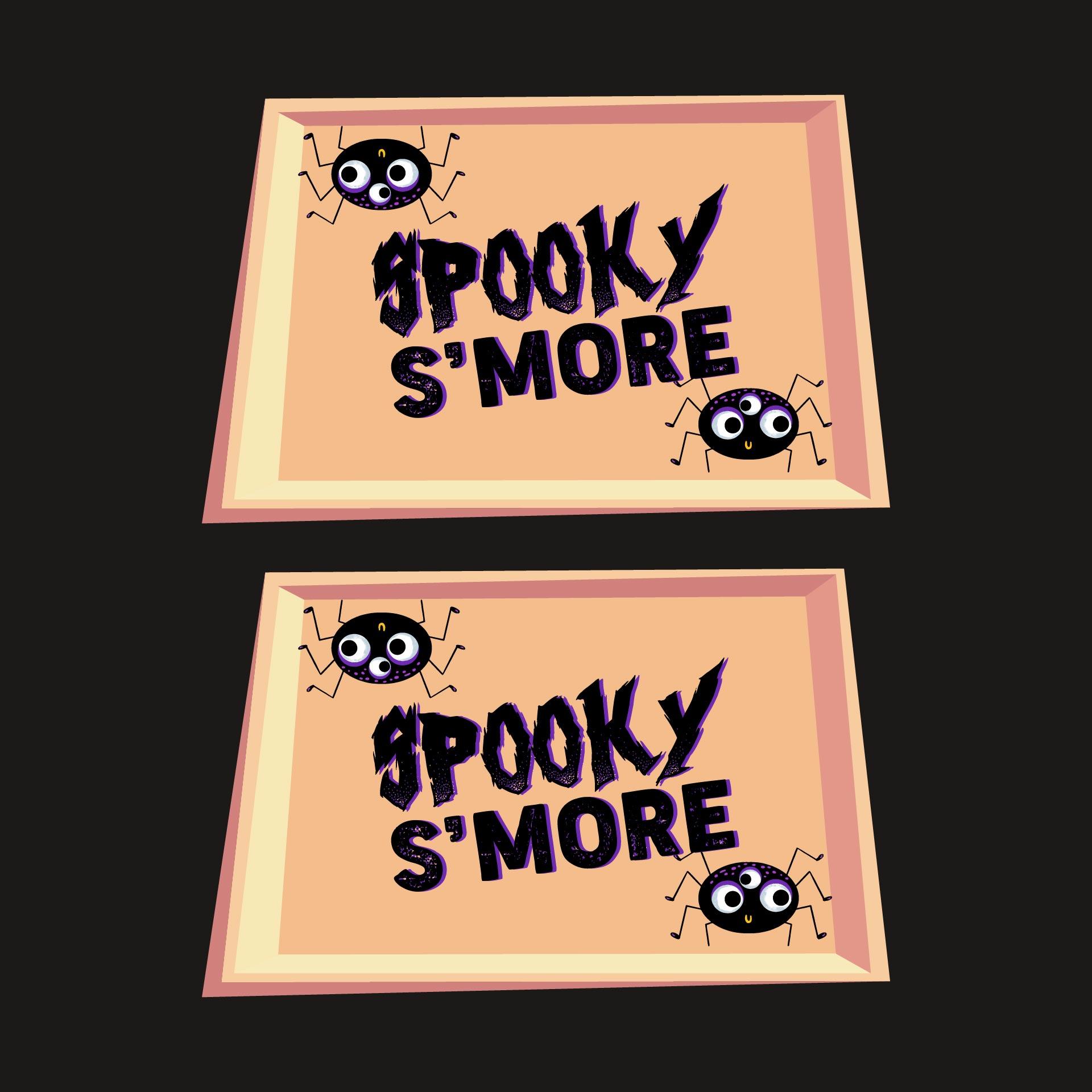 Halloween Smores Printable Tags Treat-Bag-Tags