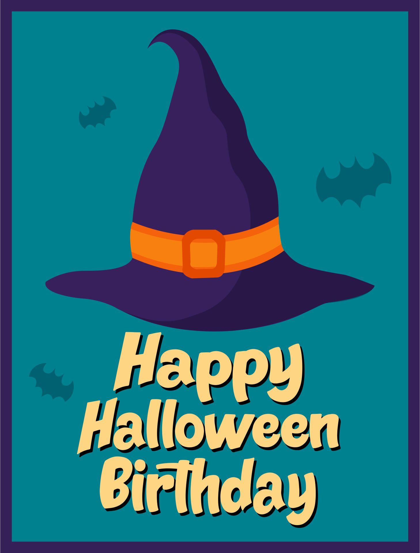 Have A Happy Halloween Birthday