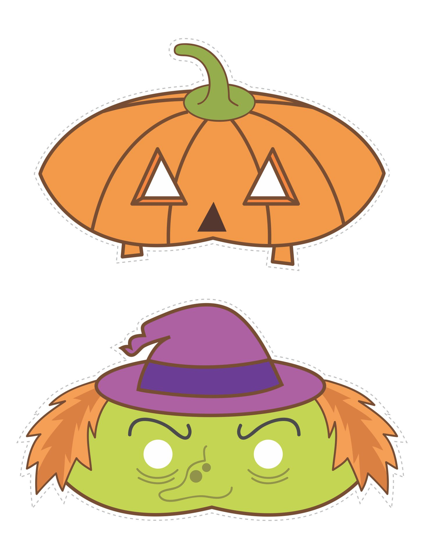 Printable Halloween Masks For Kids