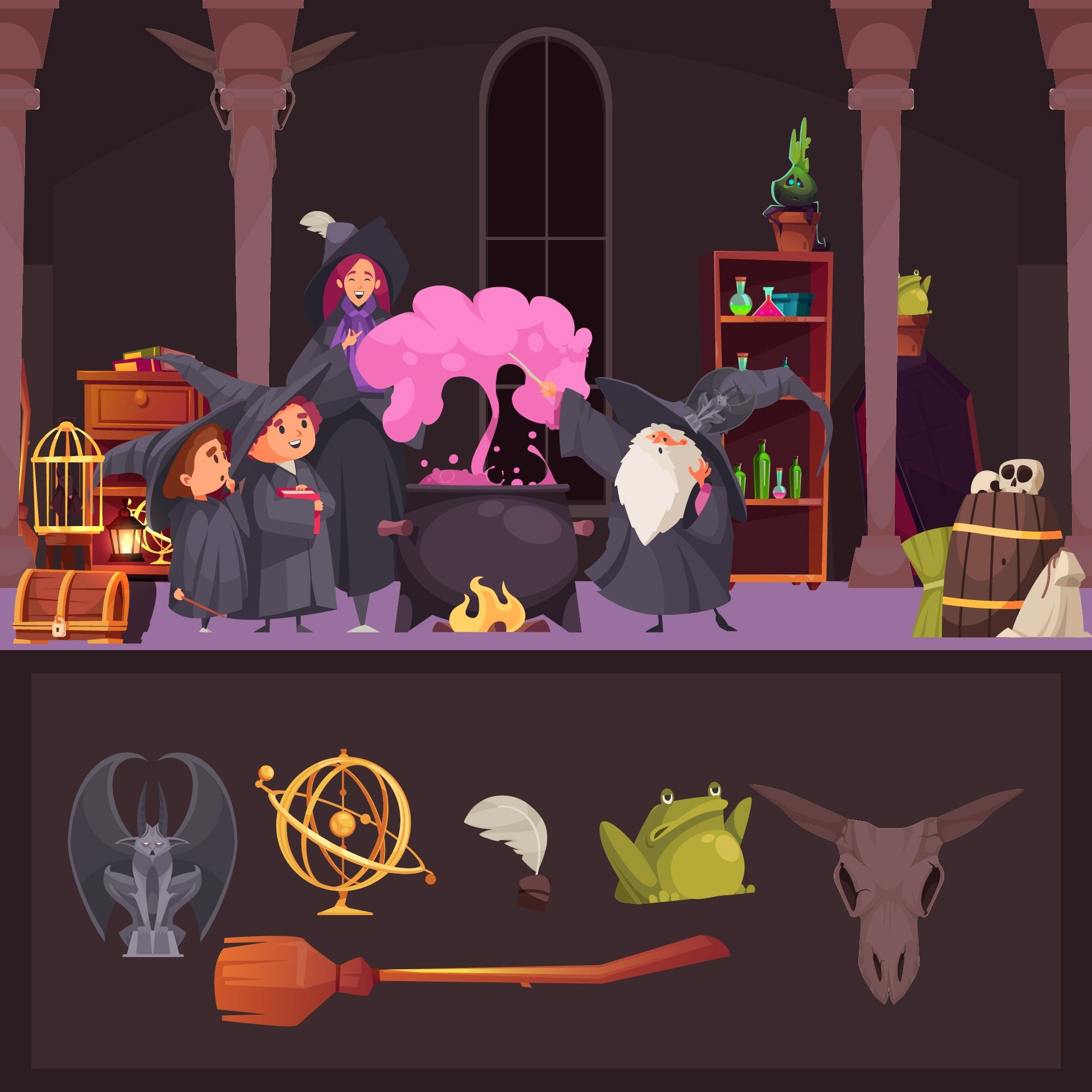 Spooktacular Halloween Hidden Pictures Printable