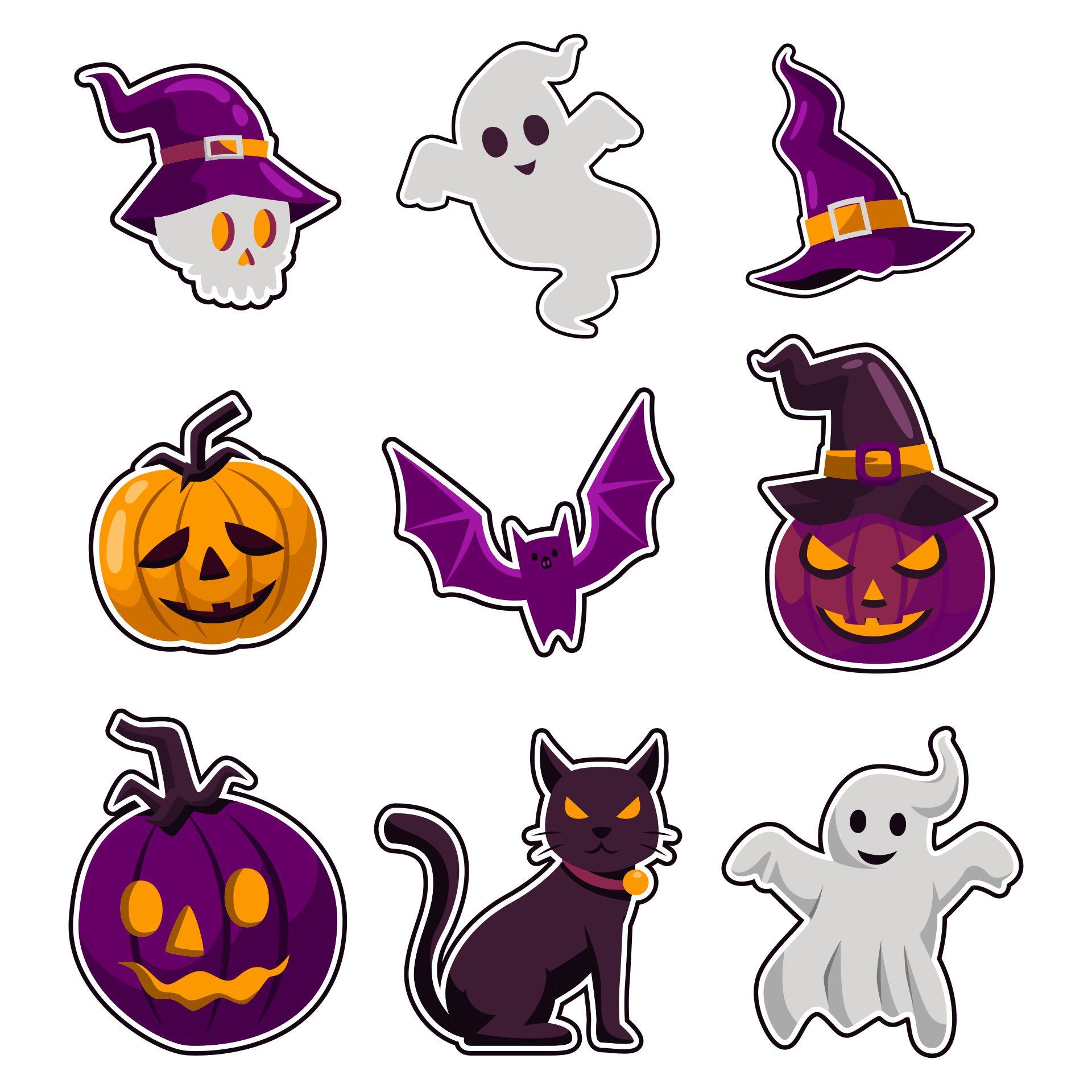 Spooky Halloween Cricut Die Cut Set Paper Art