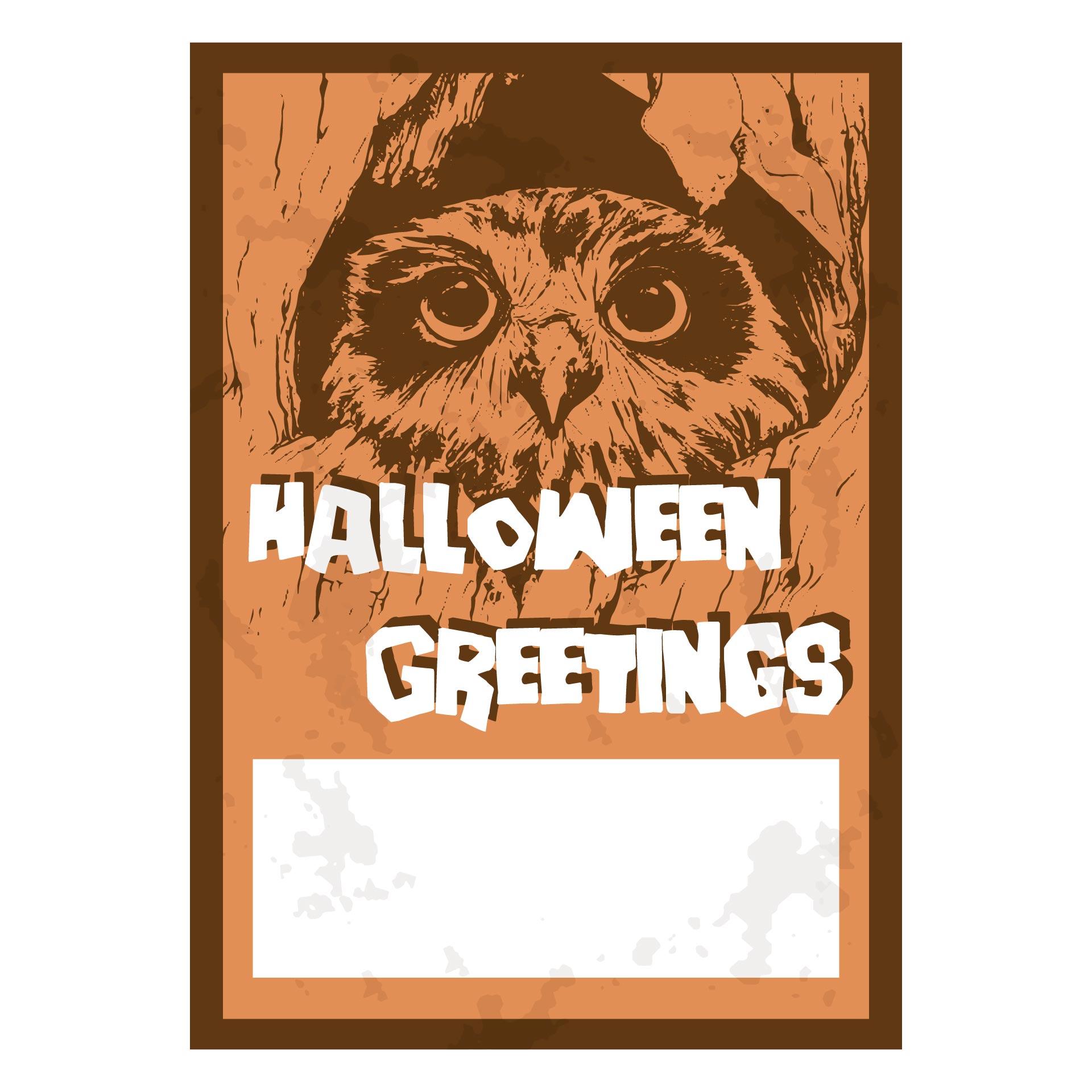 Vintage Halloween Birthday Cards