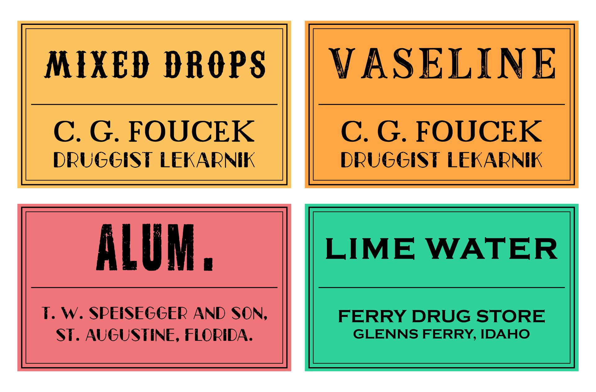 Bathroom Printable Halloween Labels Free Download