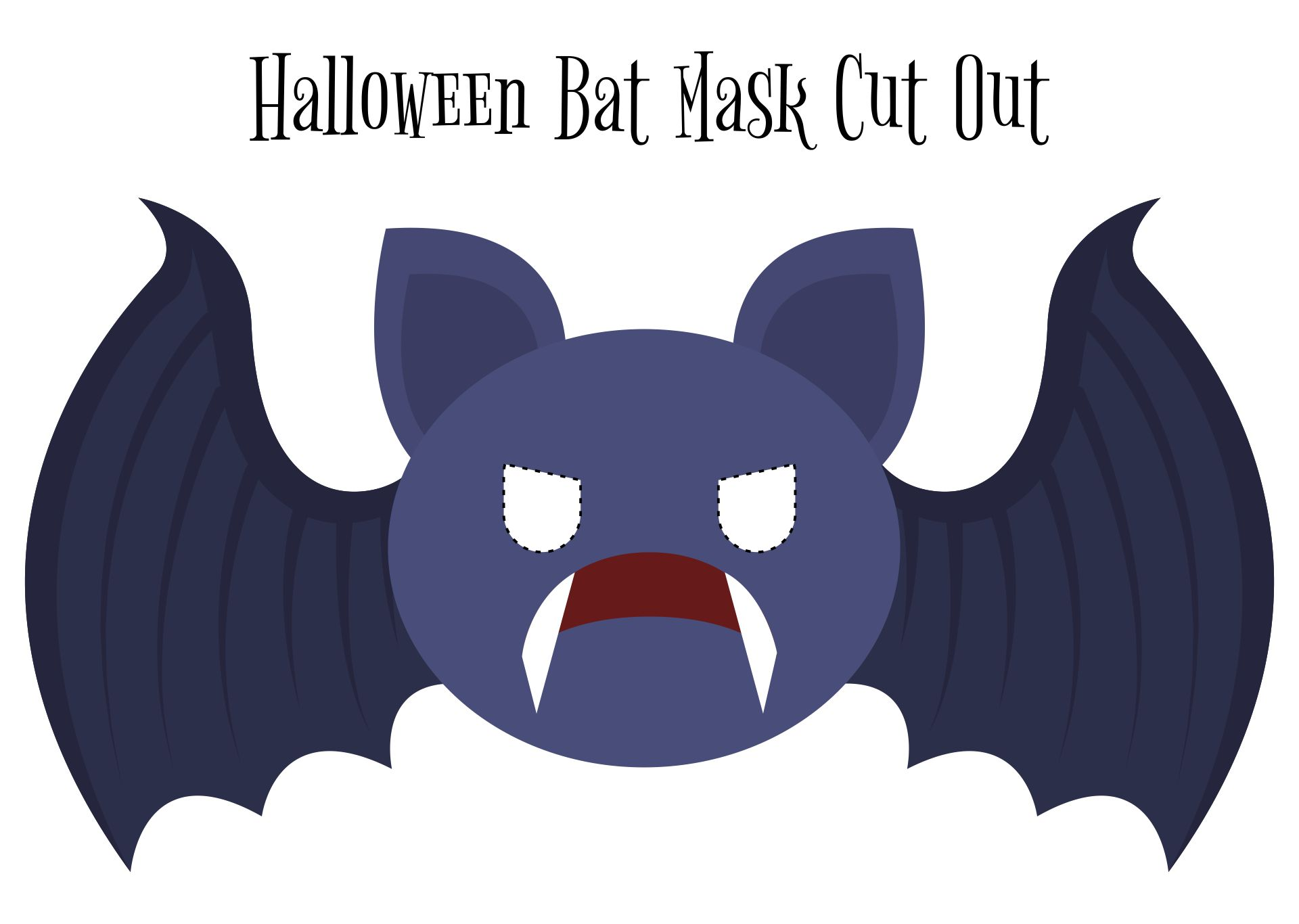 Easy Halloween Bat Crafts