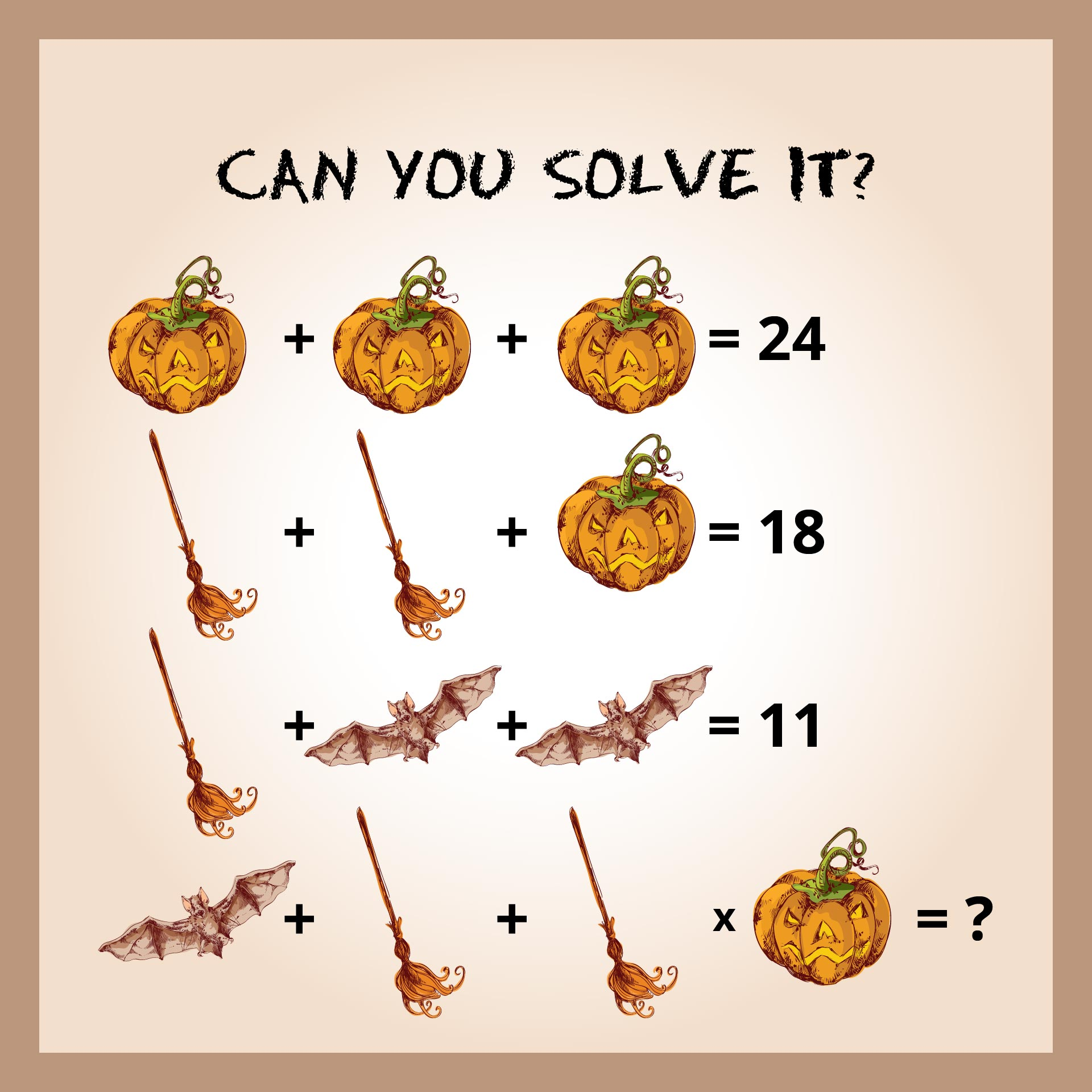 Free Halloween Math Worksheets Puzzles & Challenges