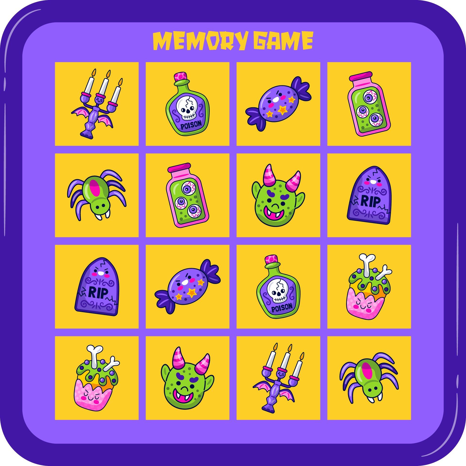 Free Printable Halloween Game For Kids