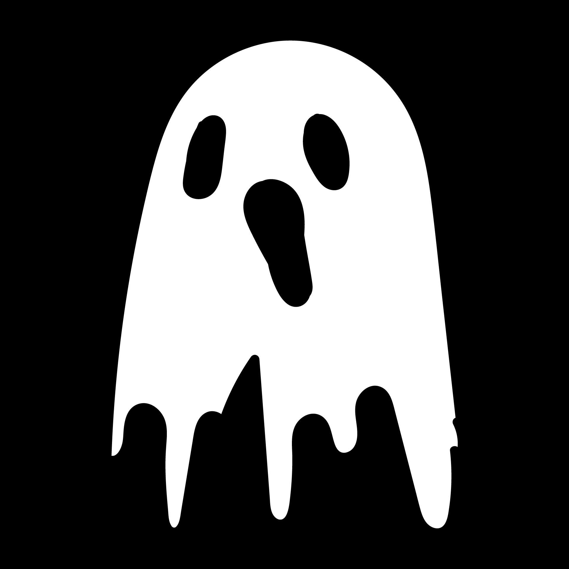 Ghost Halloween Pumpkin Stencils Printable