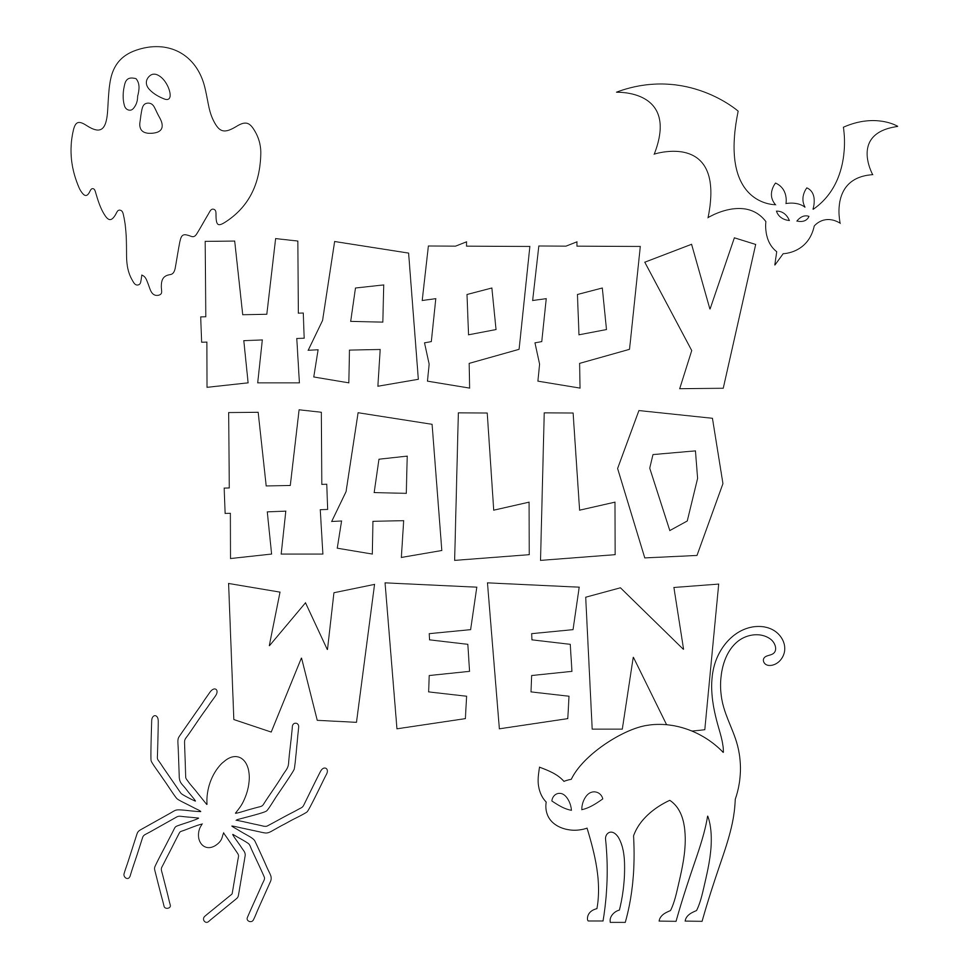 Halloween Embroidery Patterns Printable