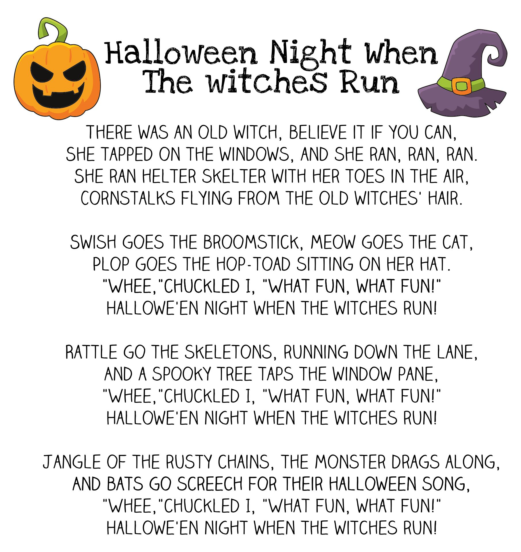 Printable Scary Short Stories For Middle School