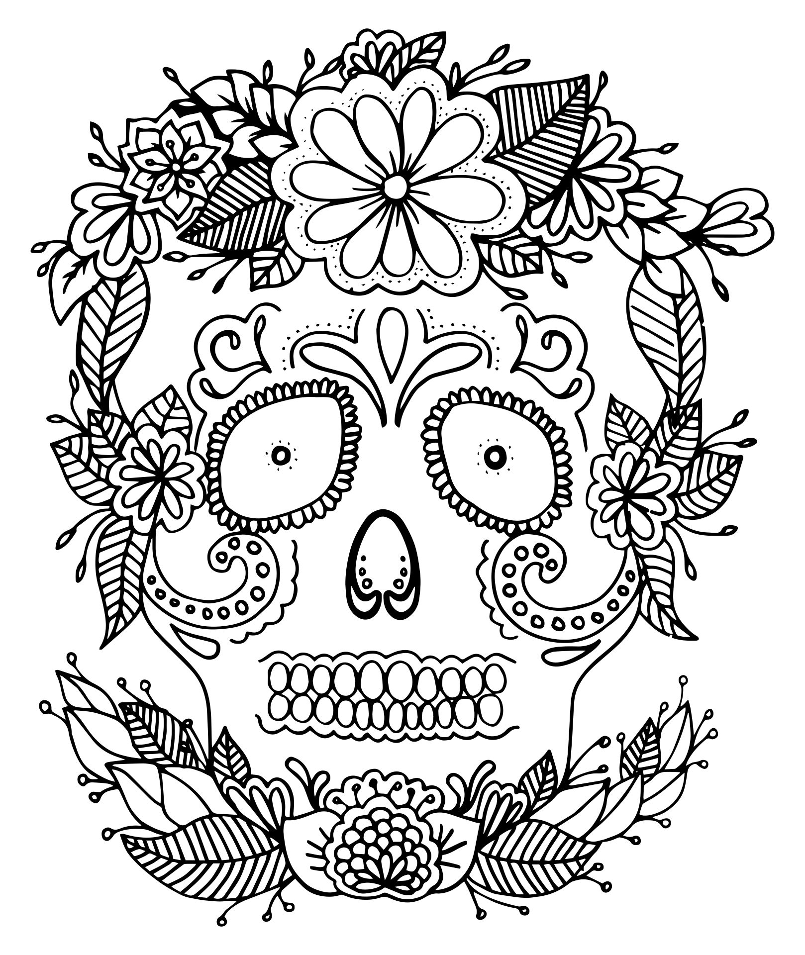 Scary Halloween Coloring Sheets Printable