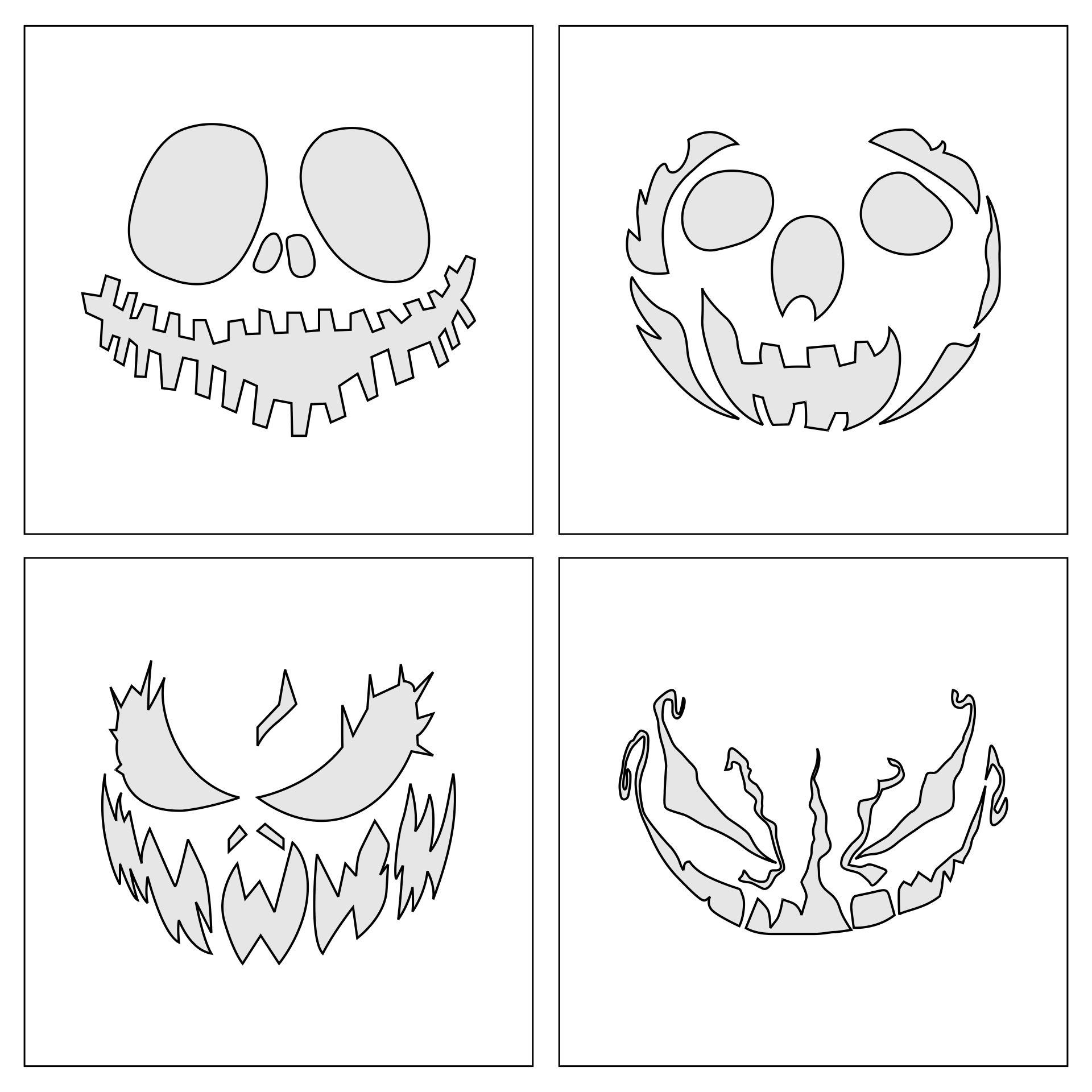 Spooky Halloween Patterns Printable