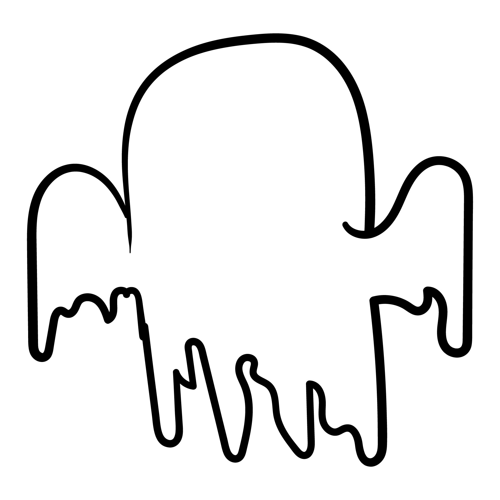 Blank Ghost Template Printable