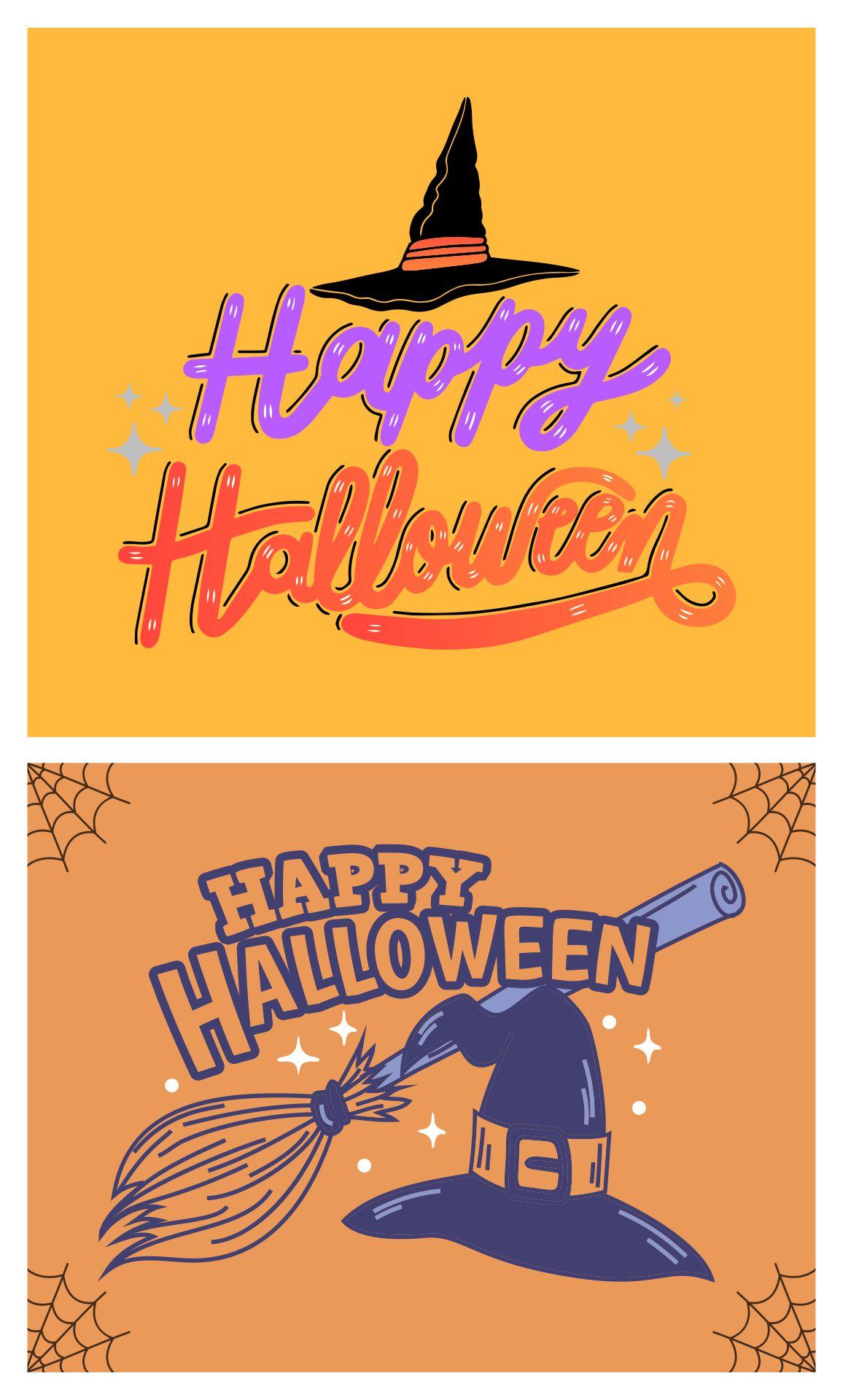 Creative Halloween Greeting Card