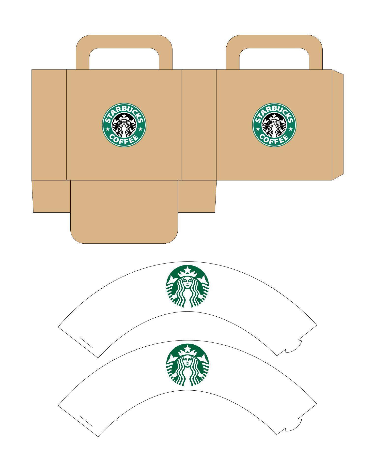 DIY American Girl Doll Starbucks Cafe Printables