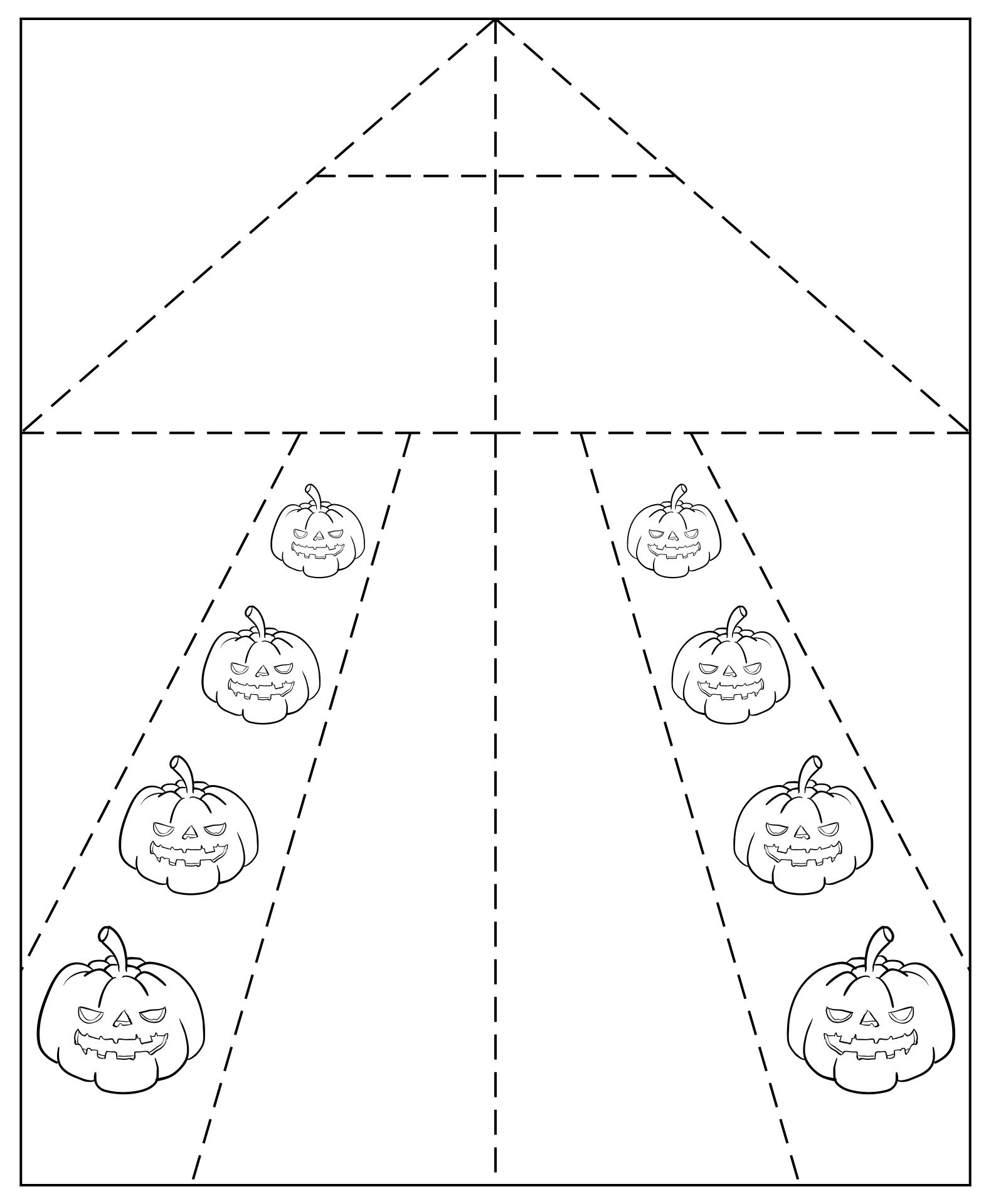 Halloween Paper Airplane Printable Templates