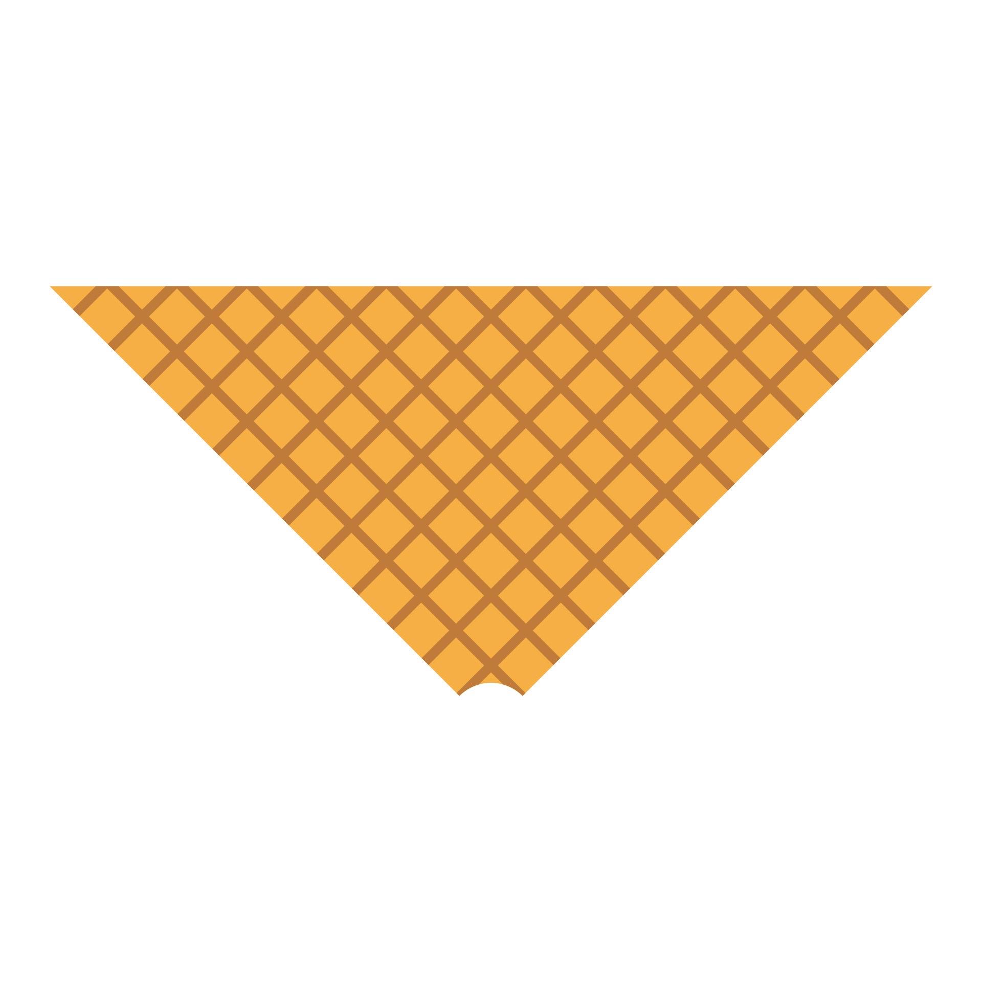 Ice Cream Cone Craft Template