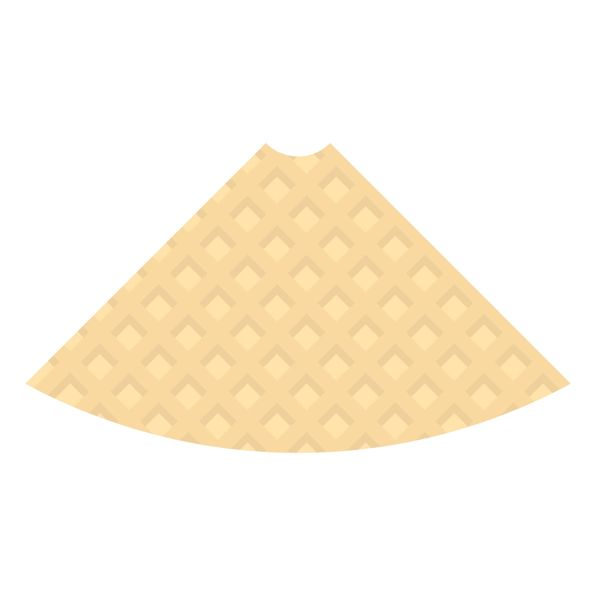 Ice Cream Cone Paper Template