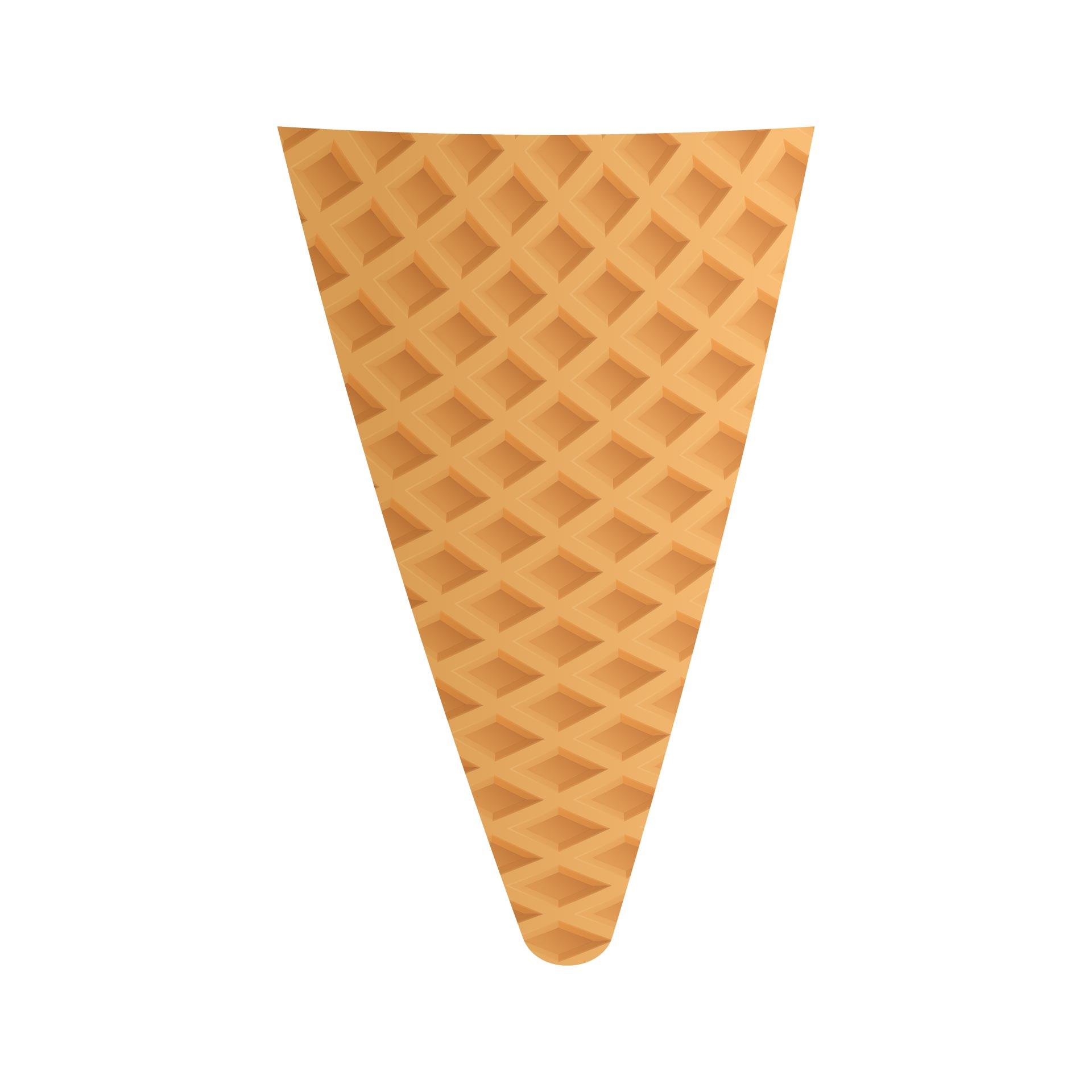 Ice Cream Cone Template