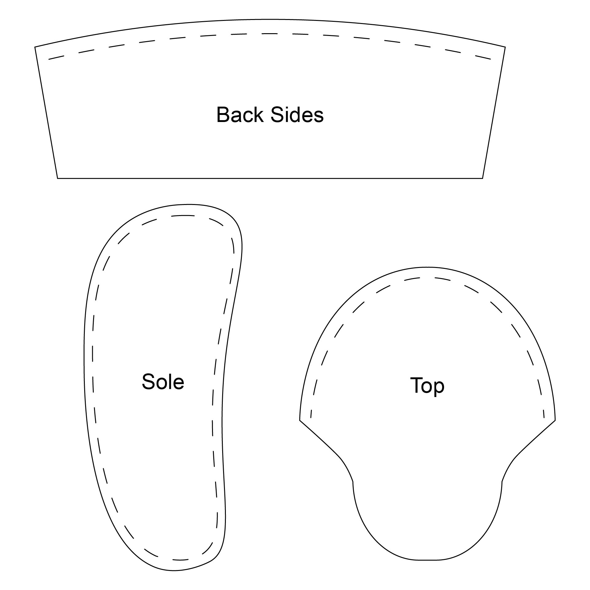 Native American Baby Moccasin Pattern