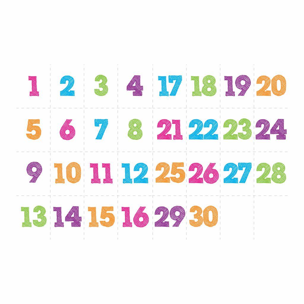 30 Days Countdown Calendar Printable