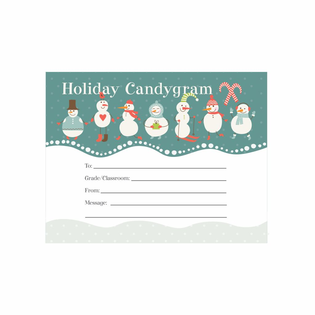 Christmas Candy Gram Sayings Printable