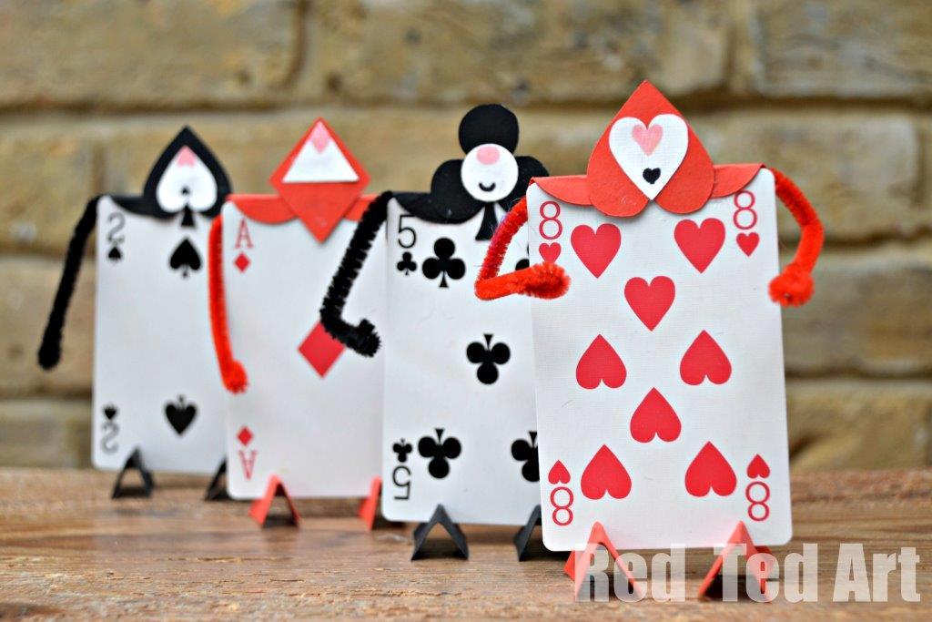 Alice in Wonderland Card Craft