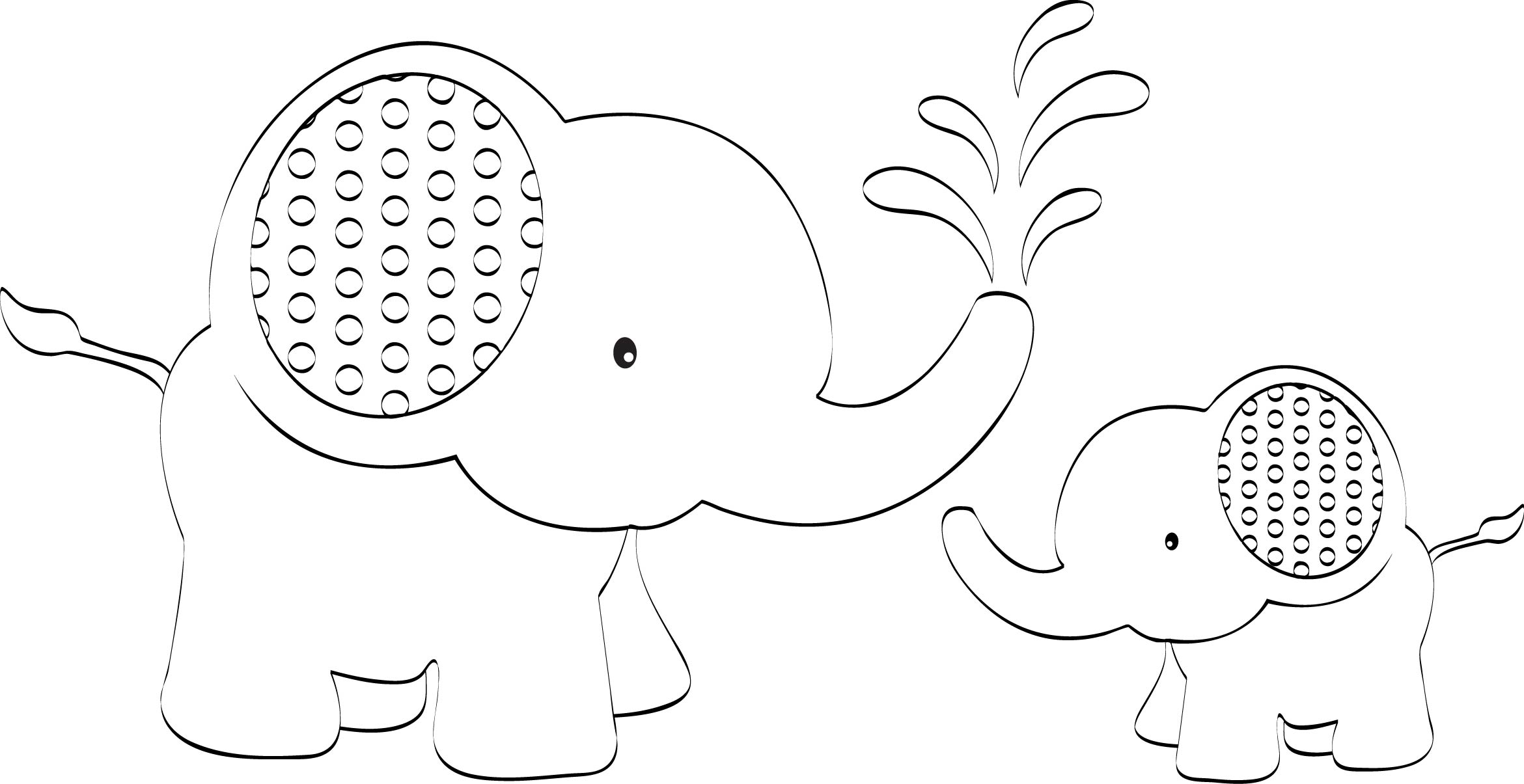 6 Best Images of Elephant Outline Printable - Elephant ...