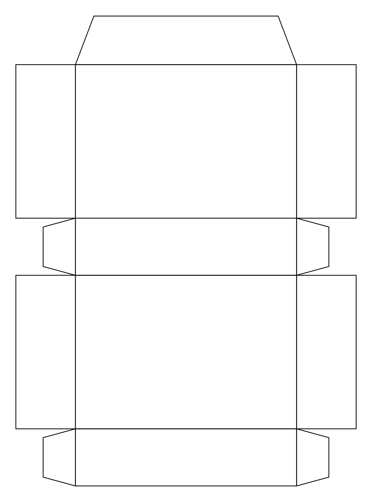 Cereal Box Template