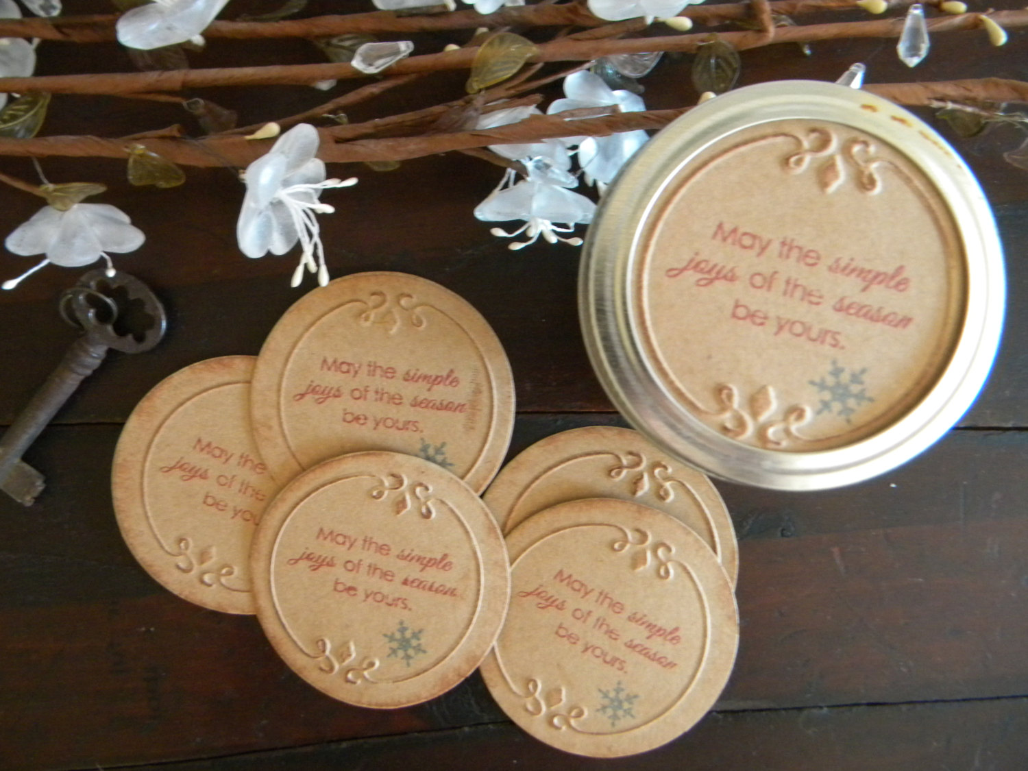 6 Images of Printable Stickers For Jar Lids