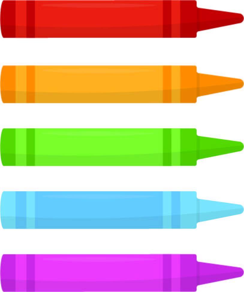 Crayon Pattern