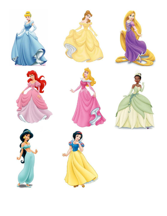 6 Best Images Of Disney Princess Printables Cut Outs