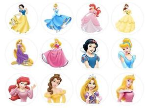 Disney Princess Printable Cupcake Toppers