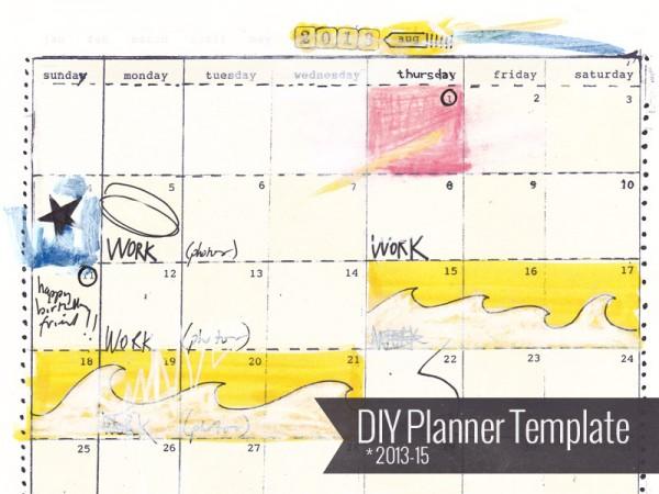 DIY Planner Template