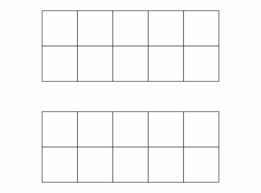 Printable Ten Frame Math Sheets