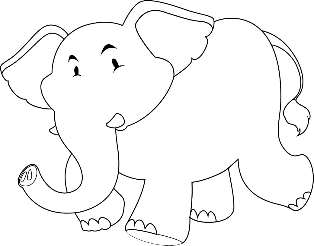 It is a graphic of Sassy Free Printable Baby Elephant Template