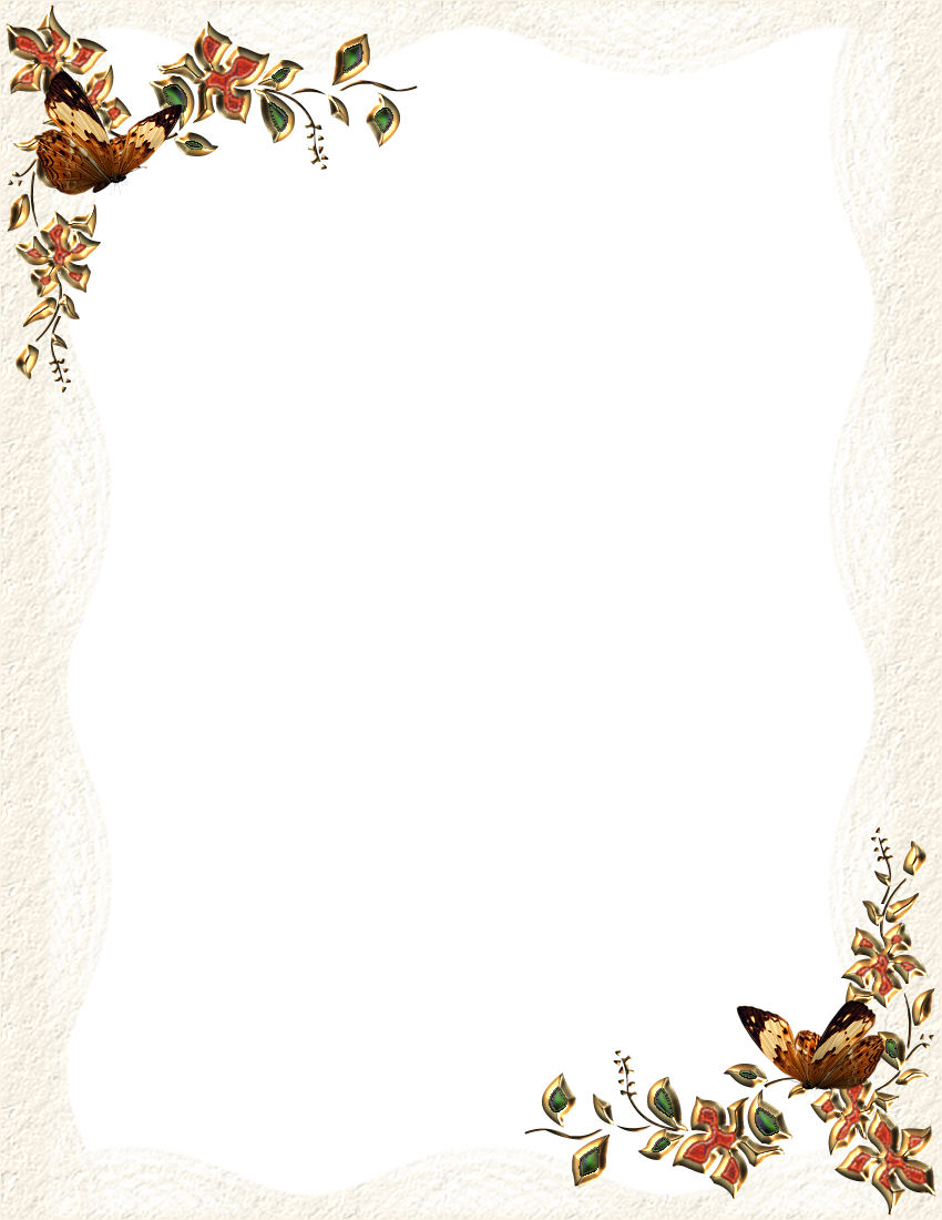 9 Best Images Of Fall Border Templates Printable Fall
