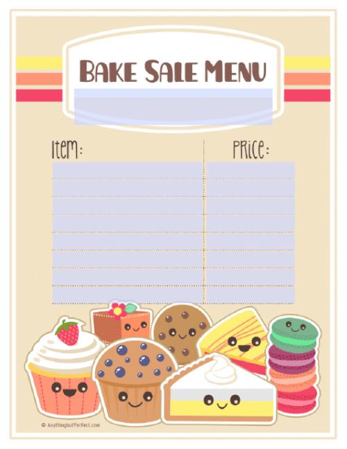 9 best images of free printable bake sale templates free printable bake sale flyer template. Black Bedroom Furniture Sets. Home Design Ideas