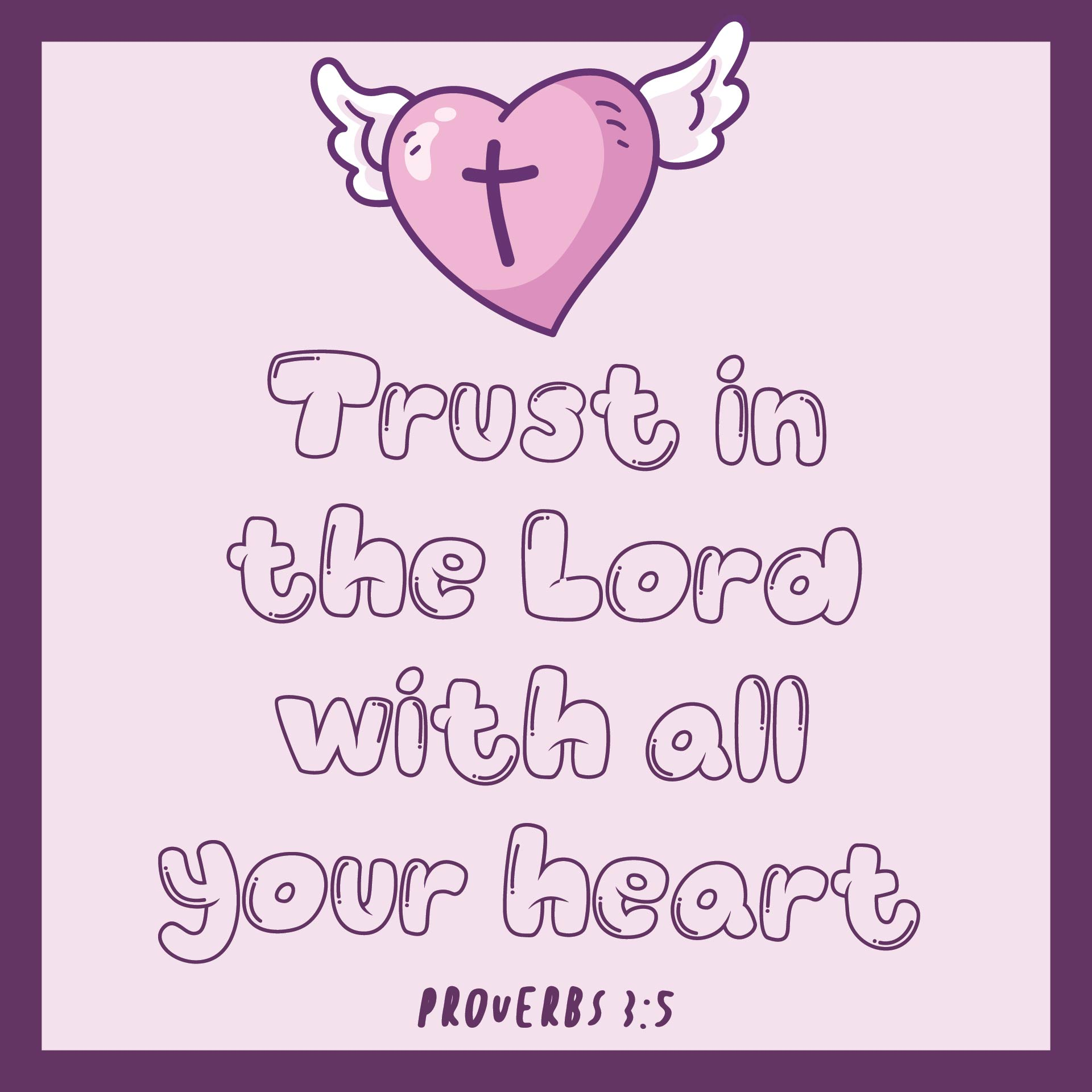 Printable Christian Valentine Day Card