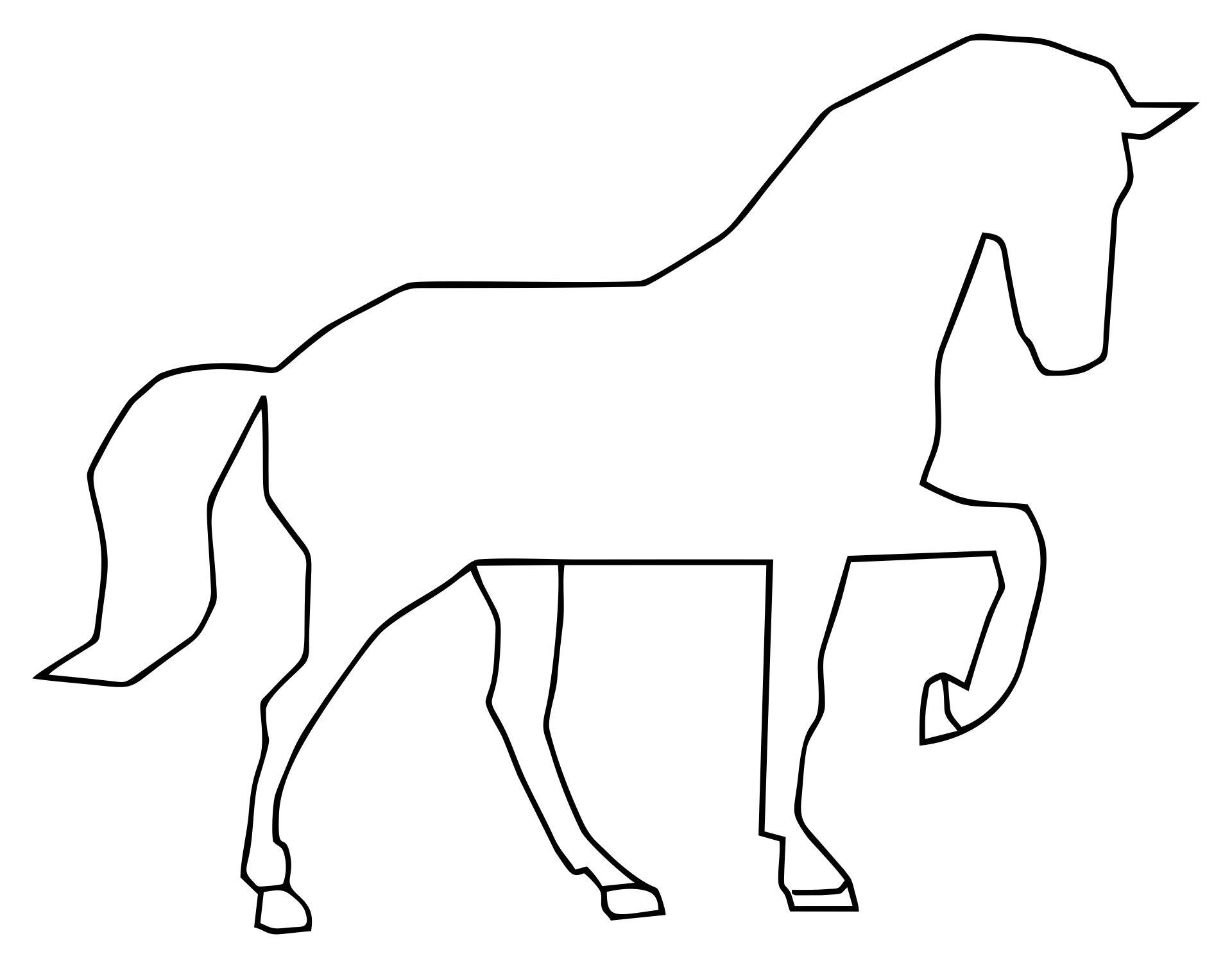 Printable Horse Quilt Patterns