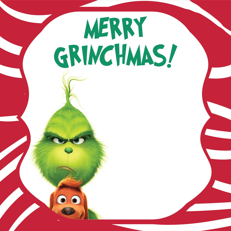 Grinch Christmas Card Craft