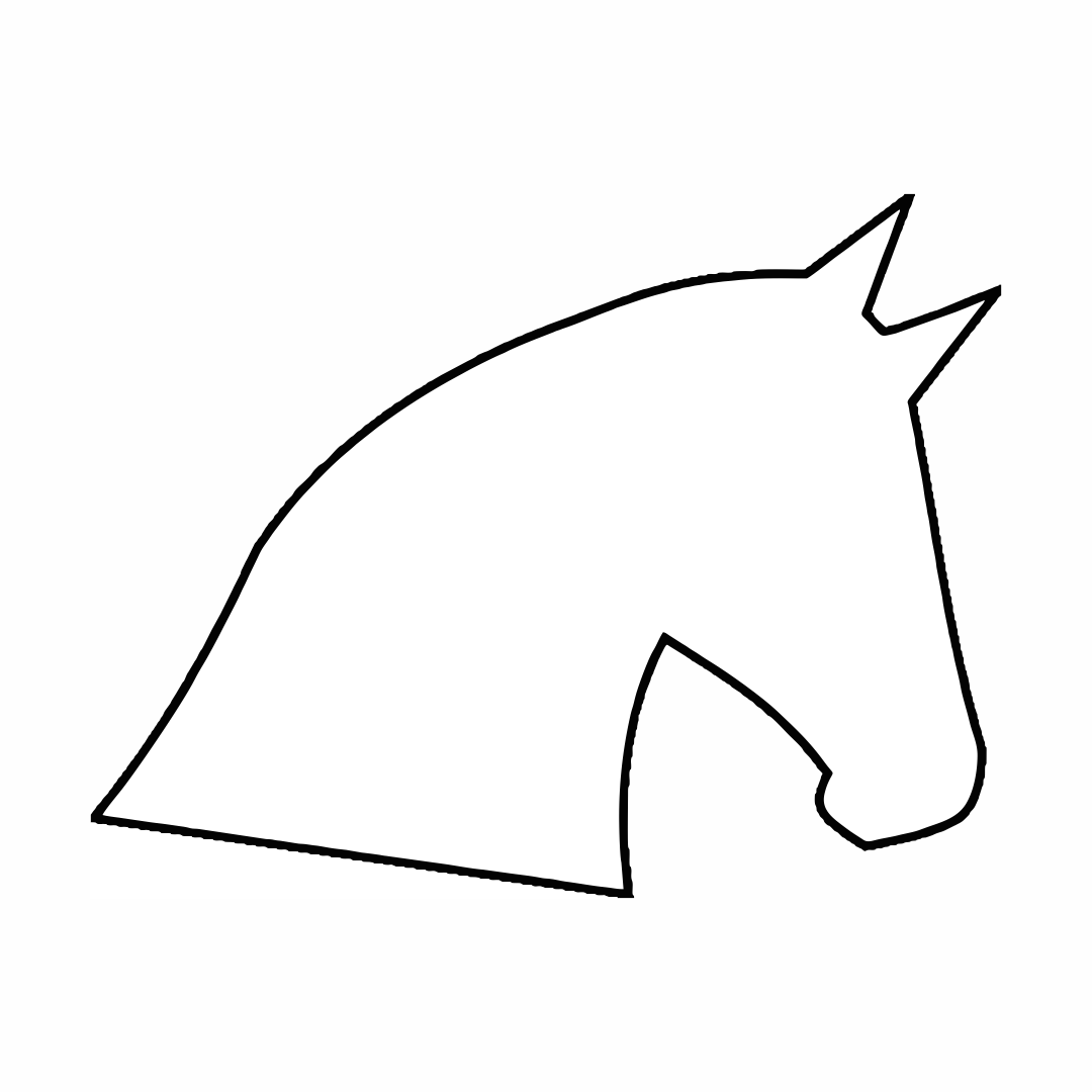Horse Head Template