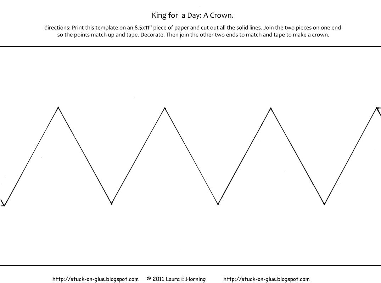 8 best images of paper crown printable princess crown for Tiara template printable free