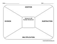 5 Images of Math Free Printable Organizer