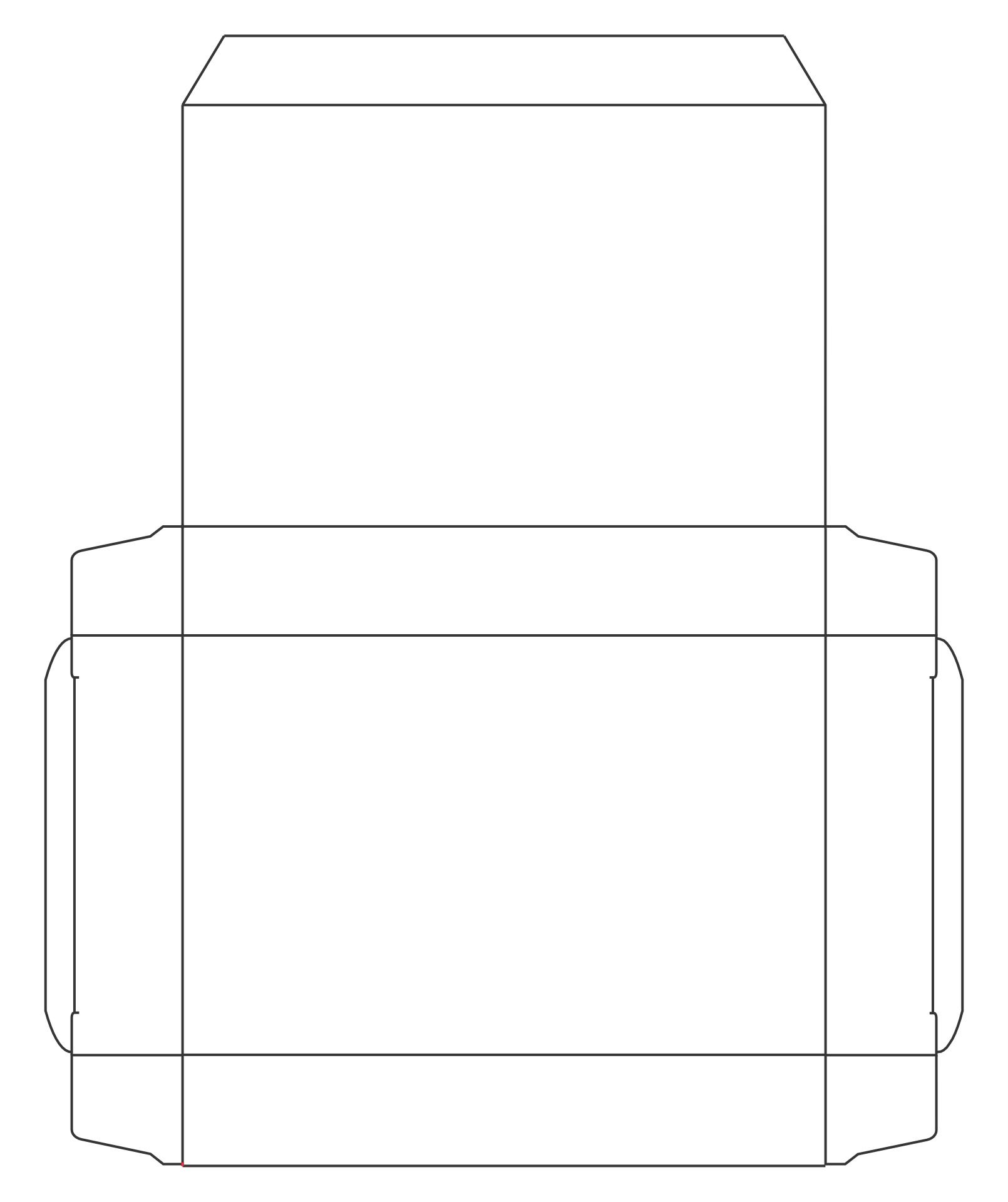 Mini Cereal Box Template