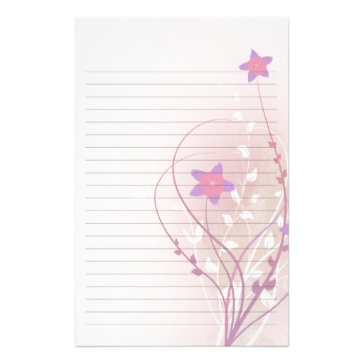 pretty writing paper printable