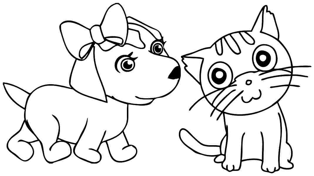 7 Images of Kitten Printable Preschool